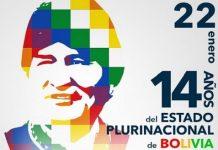 Día del Estado Plurinacional de Bolivia-Evo