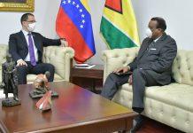 Encargado de negocios de Guyana-Esequibo-Arreaza