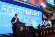 Maduro en inicio del año judicial