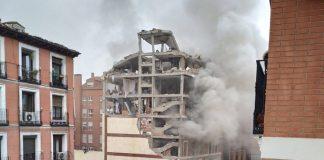 Explosión en madrid