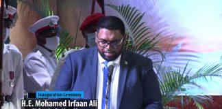 Guyana-Irfaan Ali