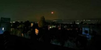 Israel-Siria-ataque con misiles 2