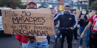 En Colombia asesinan