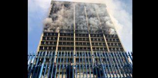 incendio Ministerio de Educación
