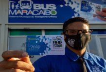 Activan pago electrónico Bus Maracaibo