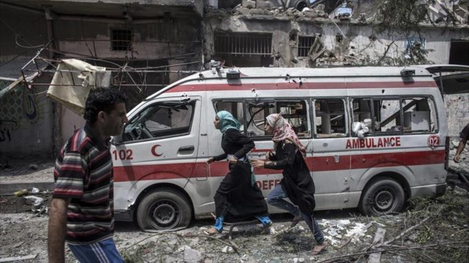 ataques a hospitales palestinos