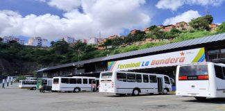 servicio de transporte interurbano