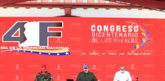 """Maduro: """"saludo este 4F a los combatientes leales a Chávez"""""""