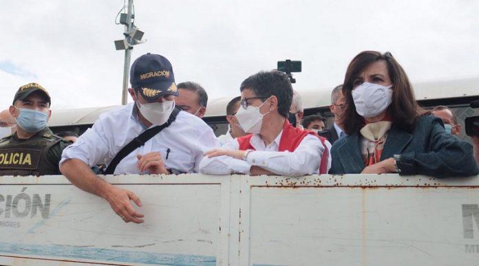 Ministra española a Cúcuta