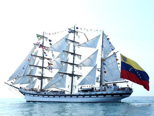 El Buque Simón Bolívar