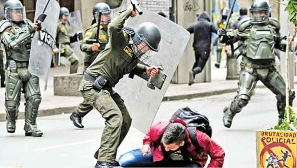 Policía Neogranadina es responsable de 86 muertes en 2020, afirma ONG