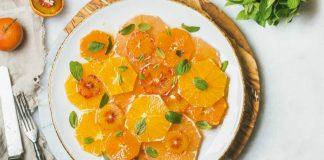 Ensalada de mandarina con naranja