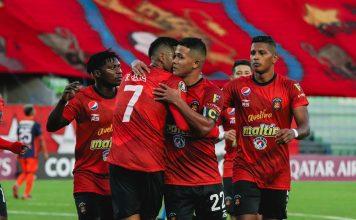 Caracas-U.Vallejo-Copa Libertadores