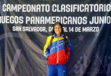 Daleska Gutiérrez Clasificada 42 para Panamericano de Cali 202