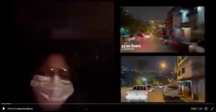 Delcy Rodríguez-patrullaje-Caracas-covid-19