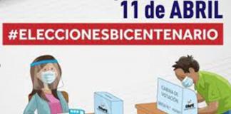 Ratifican elecciones en Perú: van el 11 de abril