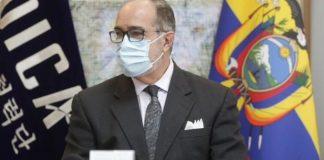 cuarto ministro de Salud en Ecuador