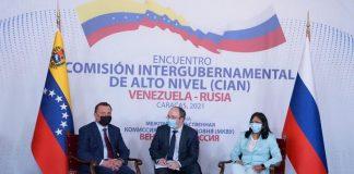 reunión de Alto Nivel Rusia - Venezuela