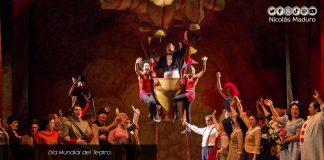 Maduro-Día Mundial del Teatro