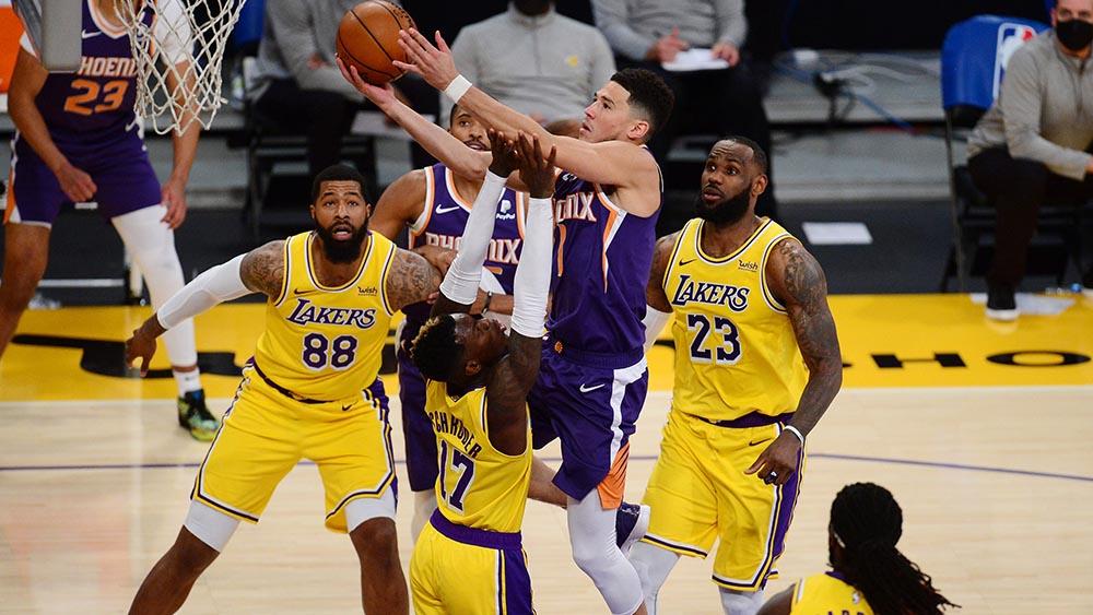 Phoenix Suns-Los Alngeles Lakers