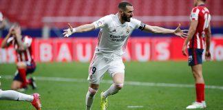 Real Madrid Benzema-Atletico de MAdrid