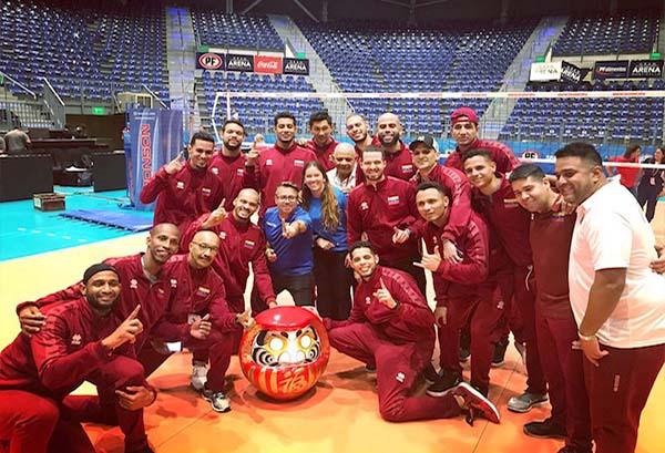 Seleccion Olímpica de Voleibol2