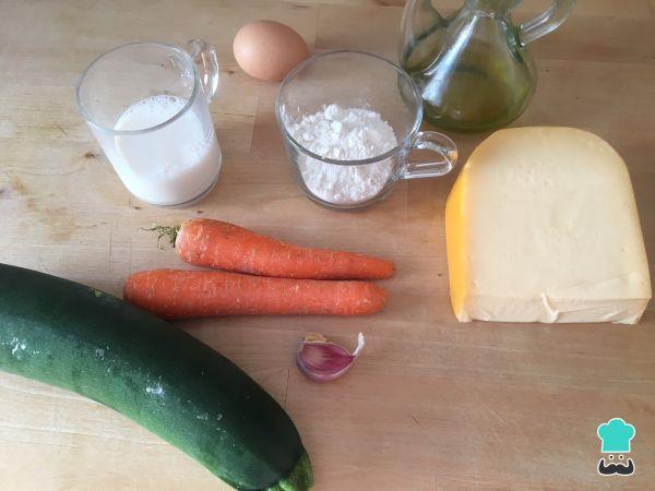 Croquetas de calabacín y zanahoria