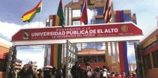 La fiscalía boliviana detiene tres personas