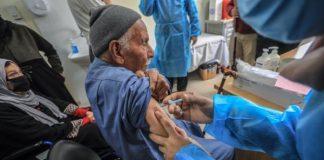 Palestina inicia vacunación