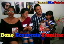 Bono Economía Familiar