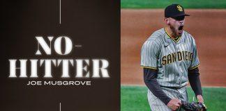 Joe Musgrove el elegido: enseñó a los Padres a tejer outs