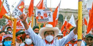 candidato de izquierda en Perú