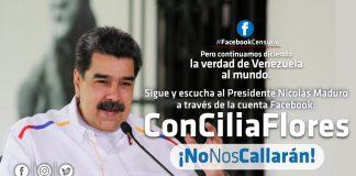 Presidebnte Nicolas Maduro-Facebook