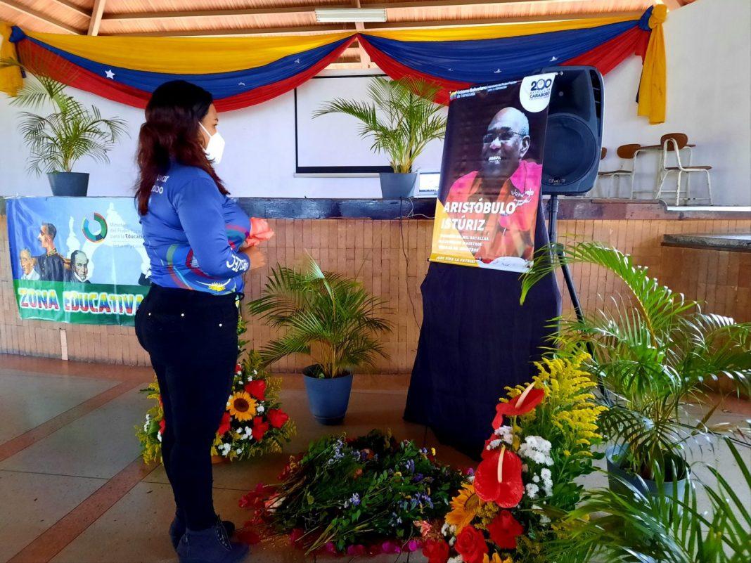 Carabobo rindió homenaje a Aristóbulo