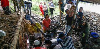 Colombia: Continúan labores