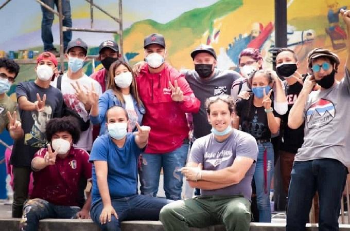 Murales Bicentenario Batalla de Carabobo