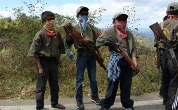 reclutamiento de menores venezolanos
