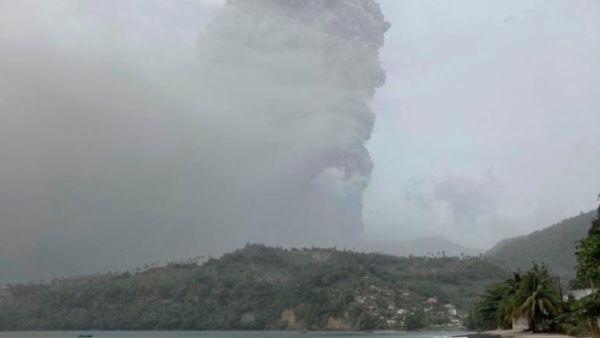 Volcán en San Vicente