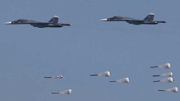 Golpe aéreo ruso