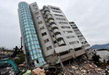 dos terremotos taiwan