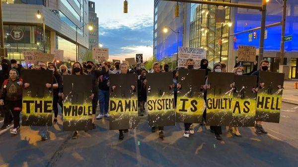 protestas en Ohio