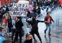 Denuncian exesos mortales de las fuerzas policiales colombianas en protestas