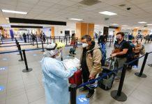 suspensión de vuelos