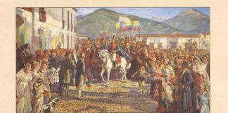 Bolívar fue aclamado Libertador