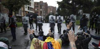 violación de DDHH en Colombia