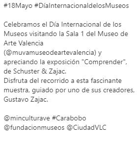 Día Internacional de los Museos-MUVA