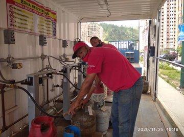 gas doméstico en Guarenas