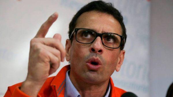 dirigentes opositores-Henrique-Capriles-CNE