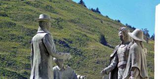Nevado-Bolívar-monumento-Mérida-Venezuela