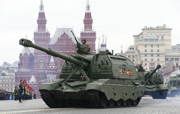 Rusia-desfile-76 día de la victoria-tanque 2